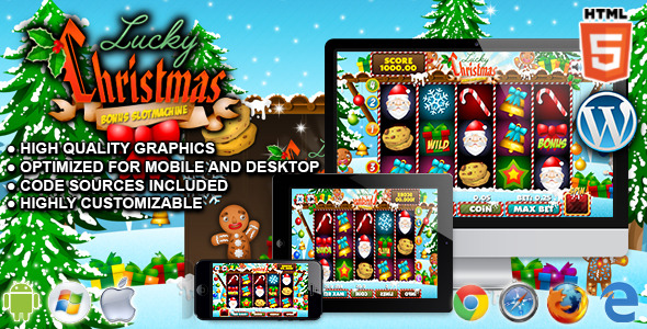 Download Slot Lucky Christmas - HTML5 Casino Game nulled download