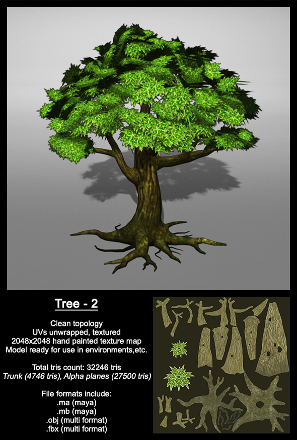 Tree_2 - 3DOcean Item for Sale