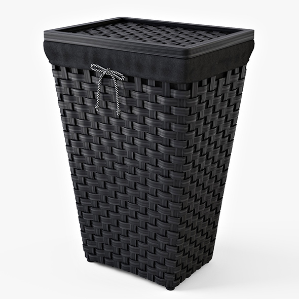 Laundry Basket IKEA KNARRA - 3DOcean Item for Sale