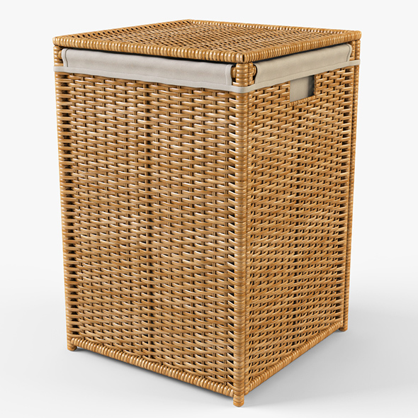 Laundry Basket Ikea Branas - 3DOcean Item for Sale