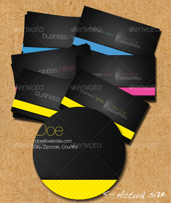 Fun Line Business Cards - Corporate Business Cards