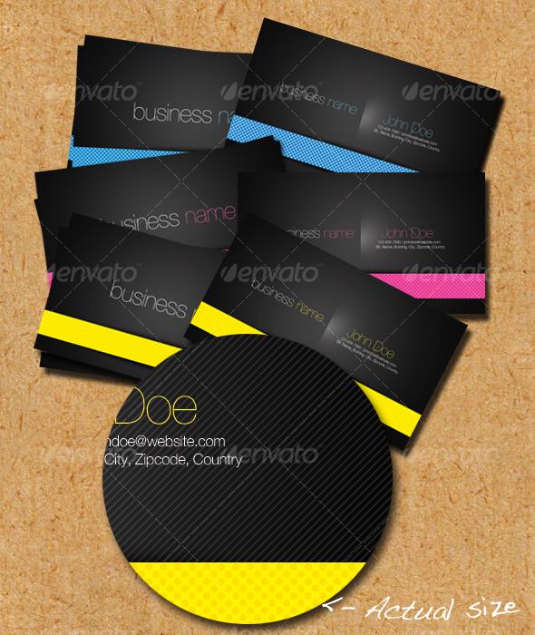 Fun Line Business Cards - Corporate Business Cards