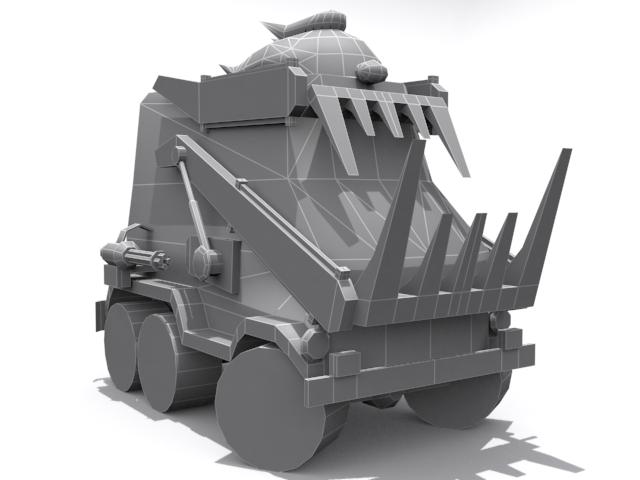 Dark Tooth - Base - 3DOcean Item for Sale