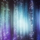Light Particles with Sparkles and Aurora Borealis