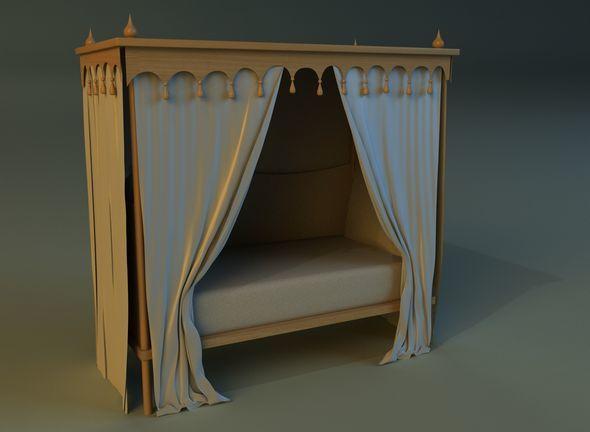 Children bed - 3DOcean Item for Sale
