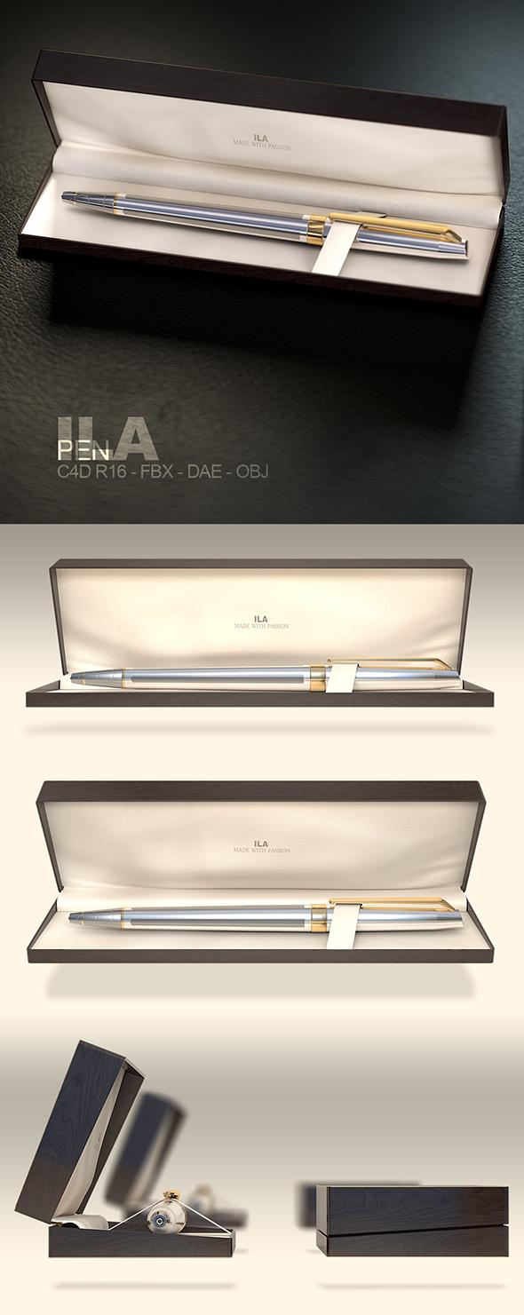 Pen In Wooden Enclosure  - 3DOcean Item for Sale