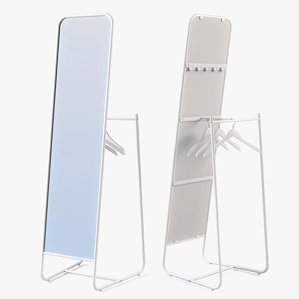 Floor Mirror Ikea Knapper - 3DOcean Item for Sale