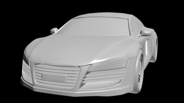 Audi R8  - 3DOcean Item for Sale