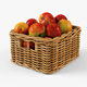 Wicker Apple Basket Ikea Byholma 1 Natural