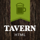 Tavern | Pub, Restaurant & Brewery Site Template - ThemeForest Item for Sale
