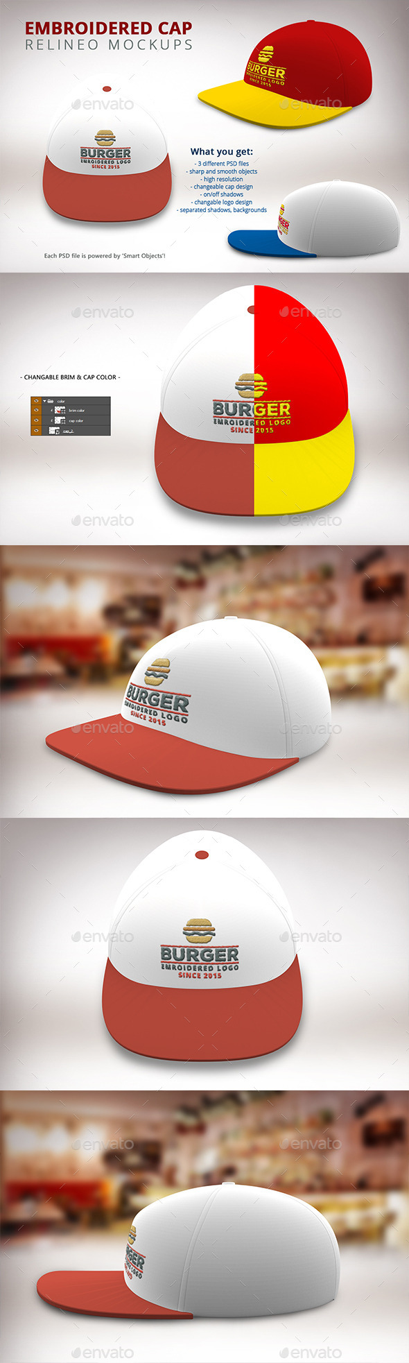 Cap Mock-up Pack