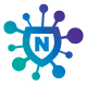 Net Block Logo (editable letter)