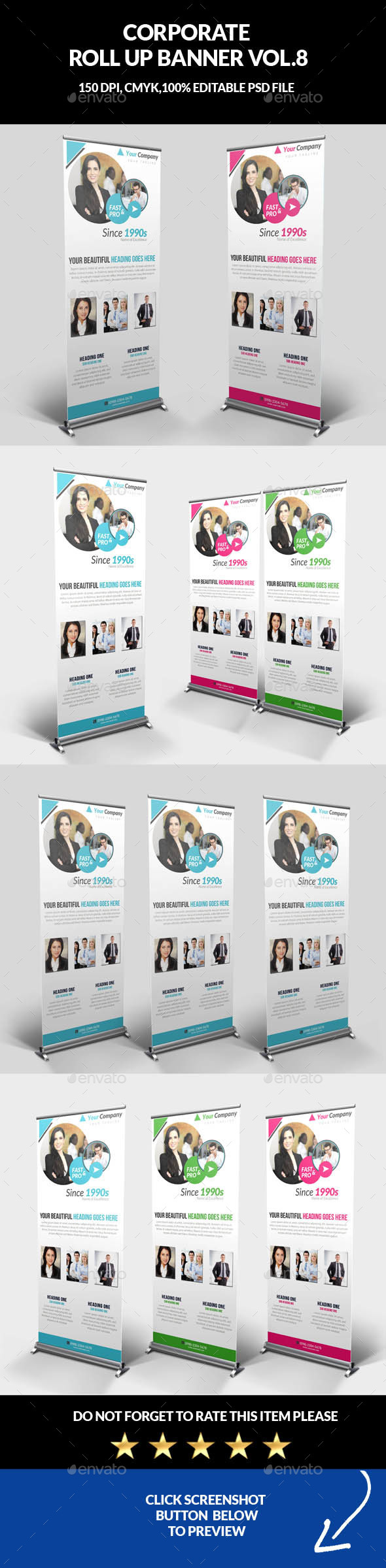 InDesign Banner Graphics, Designs & Templates from GraphicRiver
