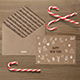 Photorealistic Invitation & Greeting Card Mockup / Kraft Edition