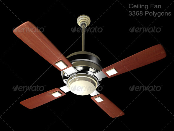 3DOcean Ceiling Fan 167950