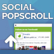 Popscroll: Facebook Like Slider - Scroll Overlay Popup Box (WordPress Plugin)