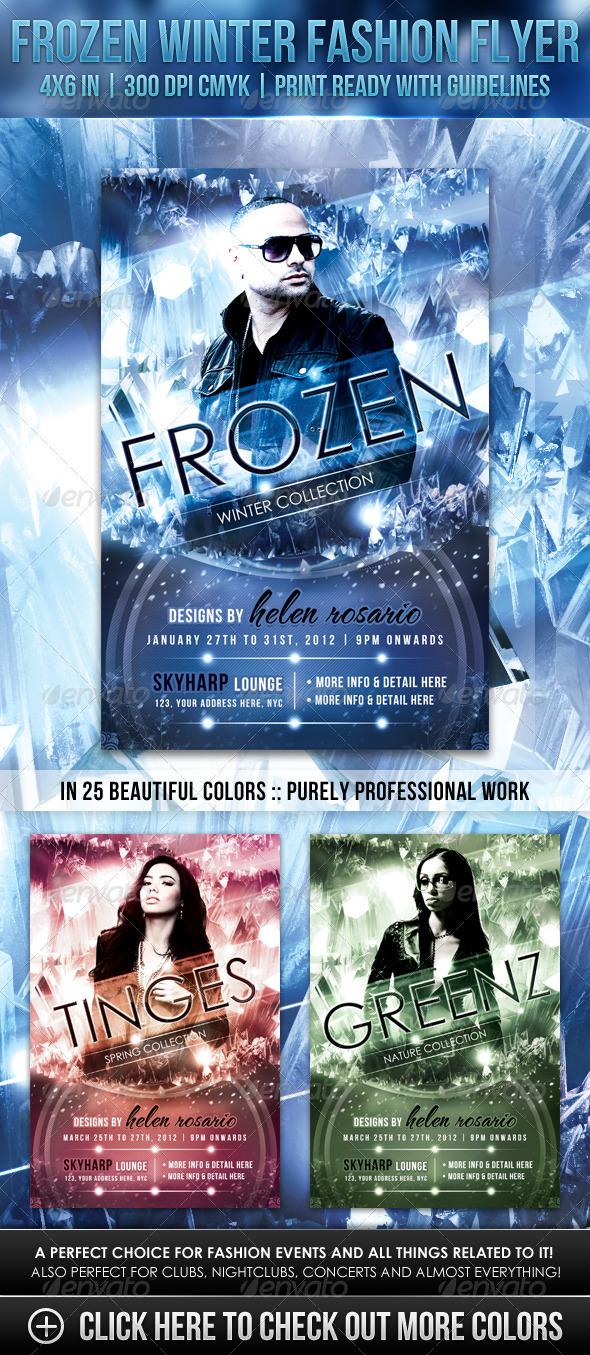 GraphicRiver Frozen Winter Fashion Flyer 1327603