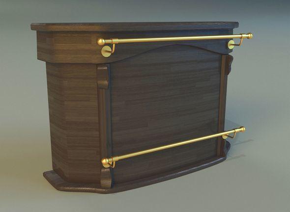 Bar of wood - 3DOcean Item for Sale