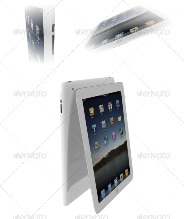 3DOcean iPad 2 168093