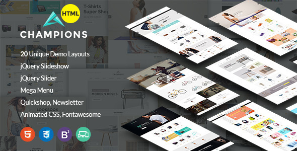 Champion -  MultiPurpose eCommerce HTML5 Template