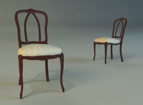 Chair dining - 3DOcean Item for Sale