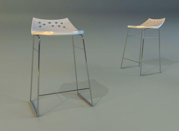 Bar stool modern - 3DOcean Item for Sale