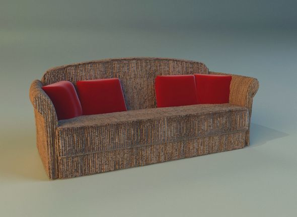 Sofa  velvet - 3DOcean Item for Sale