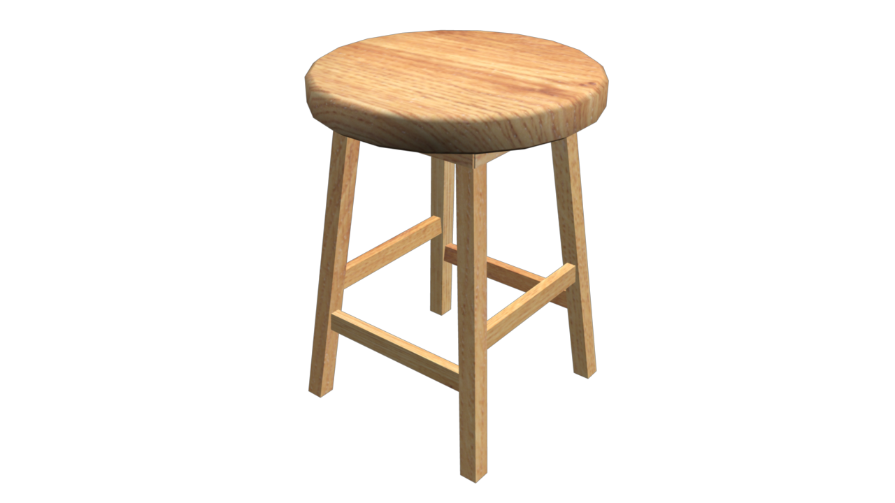 Stool By Fiveaxiomsinc 3docean