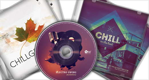 Music CD Cover Templates by Sao108