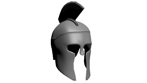 Warrior Helmet - 3DOcean Item for Sale