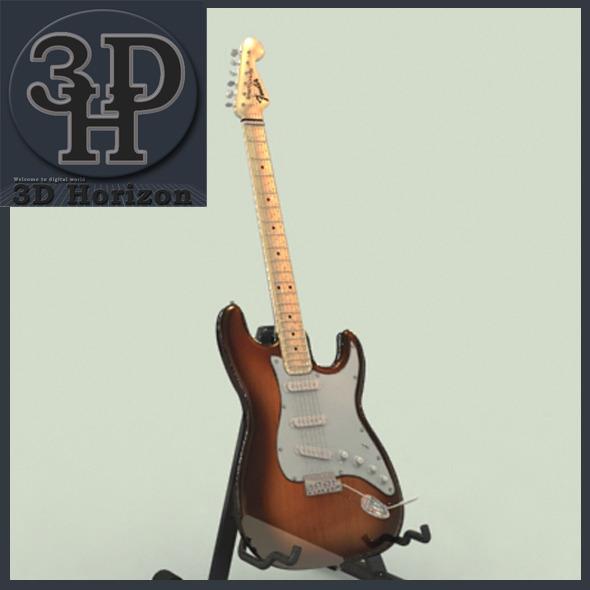 3DOcean Fender Stratocaster 1414518