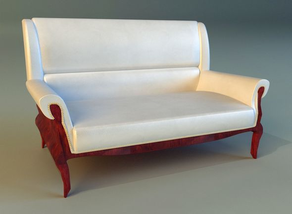 Sofa leather classic - 3DOcean Item for Sale