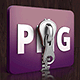 PNG compressor with support for transparency.
