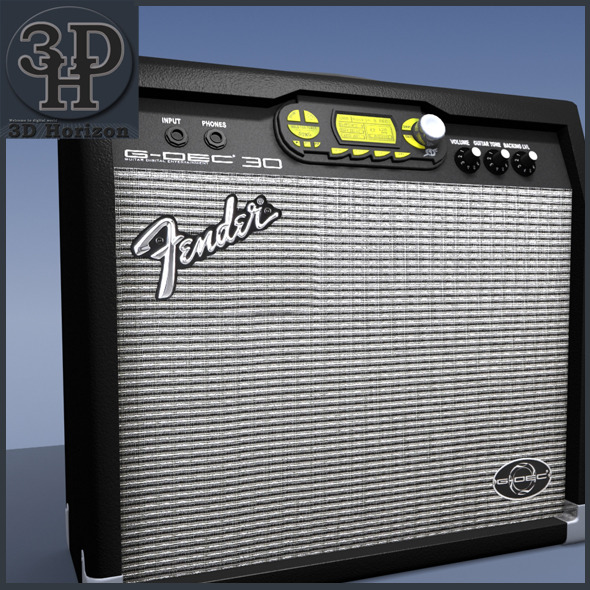 3DOcean Fender Guitar Amp 1414798