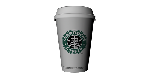 3DOcean Starbucks coffee 14147198