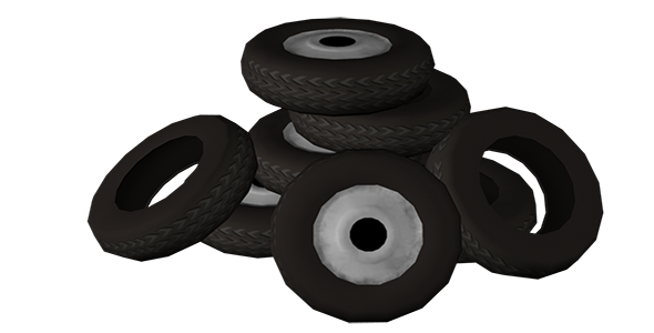 tyres  - 3DOcean Item for Sale