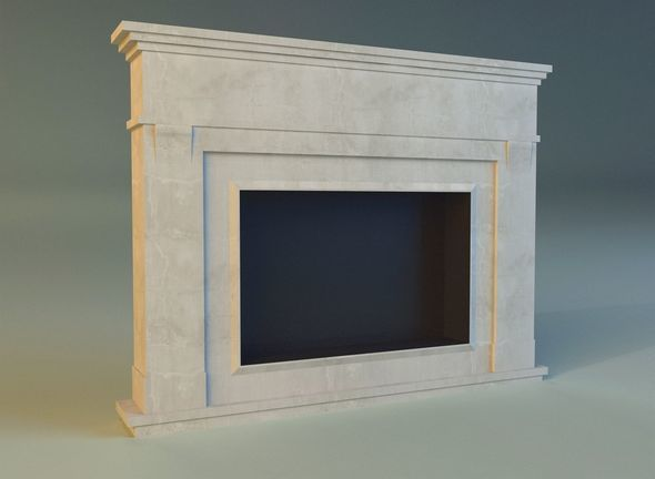 Fireplace 3 - 3DOcean Item for Sale