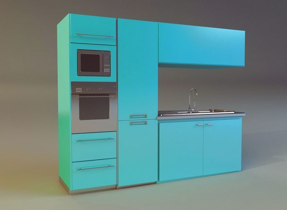 Kitchen 3 - 3DOcean Item for Sale