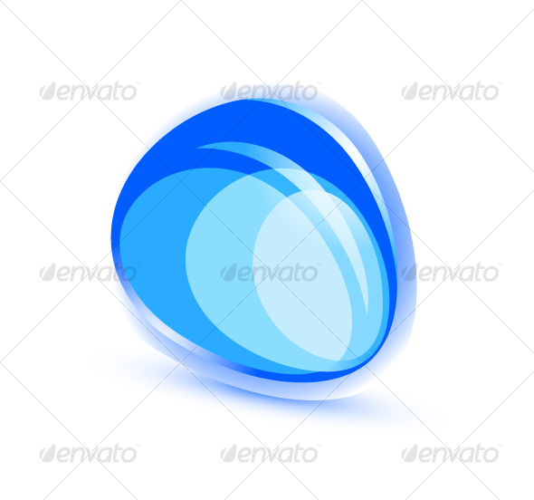 GraphicRiver Abstract blue shape 56089