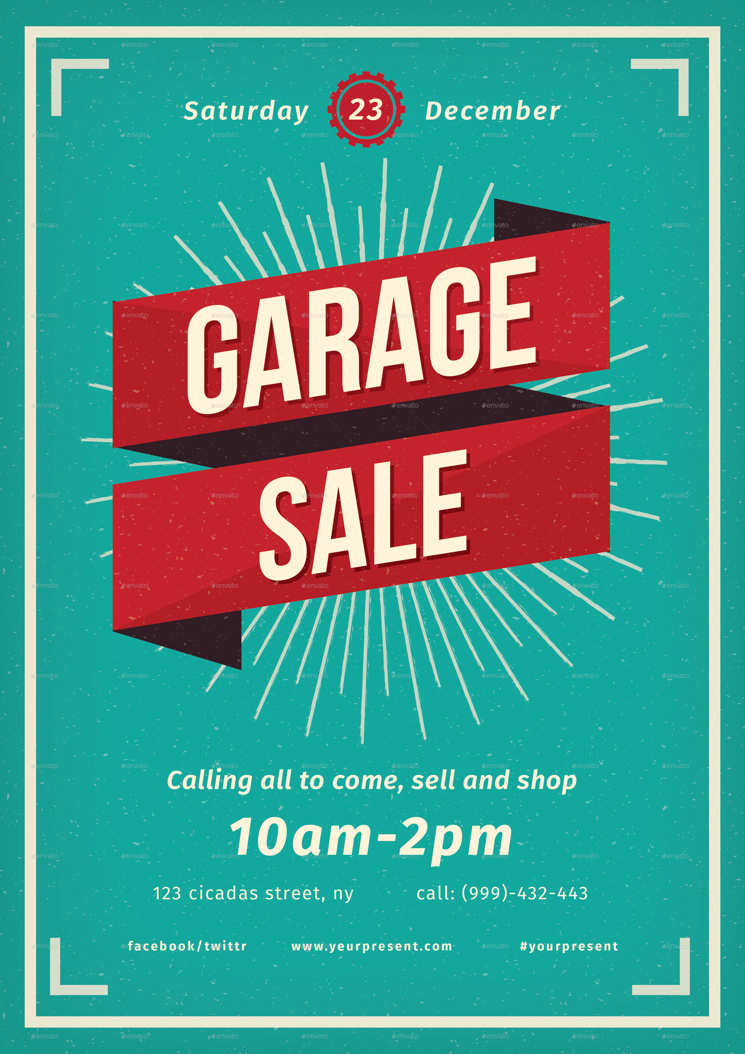 vintage garage flayer by lilynthesweetpea graphicriver preview image set 01 vintage garage jpg