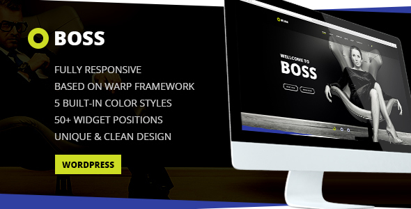 Download Boss — Modern Agency and Business WordPress Theme nulled download