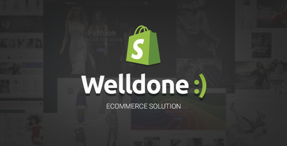 Welldone - Material Responsive Shopify Theme