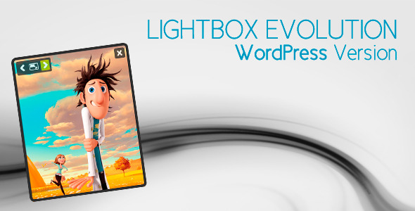 Lightbox Evolution for WordPress - CodeCanyon Item for Sale