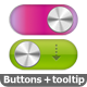 CSS3 Toggle Buttons and Tolltip