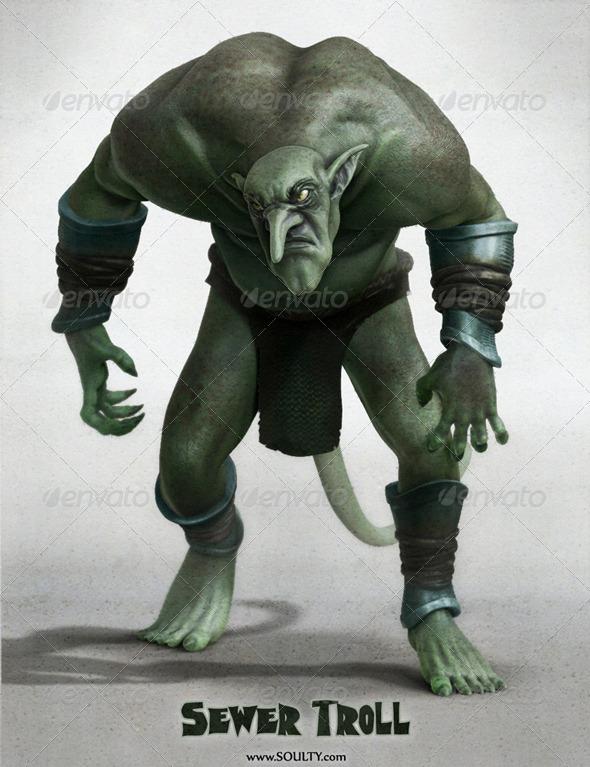 Troll - 3DOcean Item for Sale