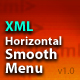 XML Horizontal Smooth Menu AS2 v1.0 - ActiveDen Item for Sale