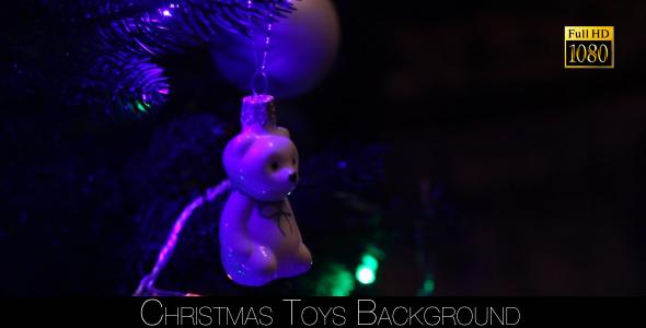 Christmas Toys Background 2