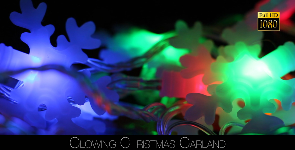 Glowing Christmas Garland 3
