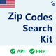 US Zip Codes Search Kit - CodeCanyon Item for Sale