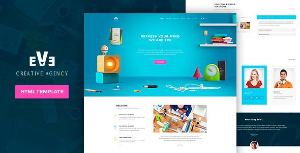 Eve Creative HTML Theme